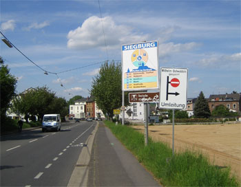 Stau Siegburg