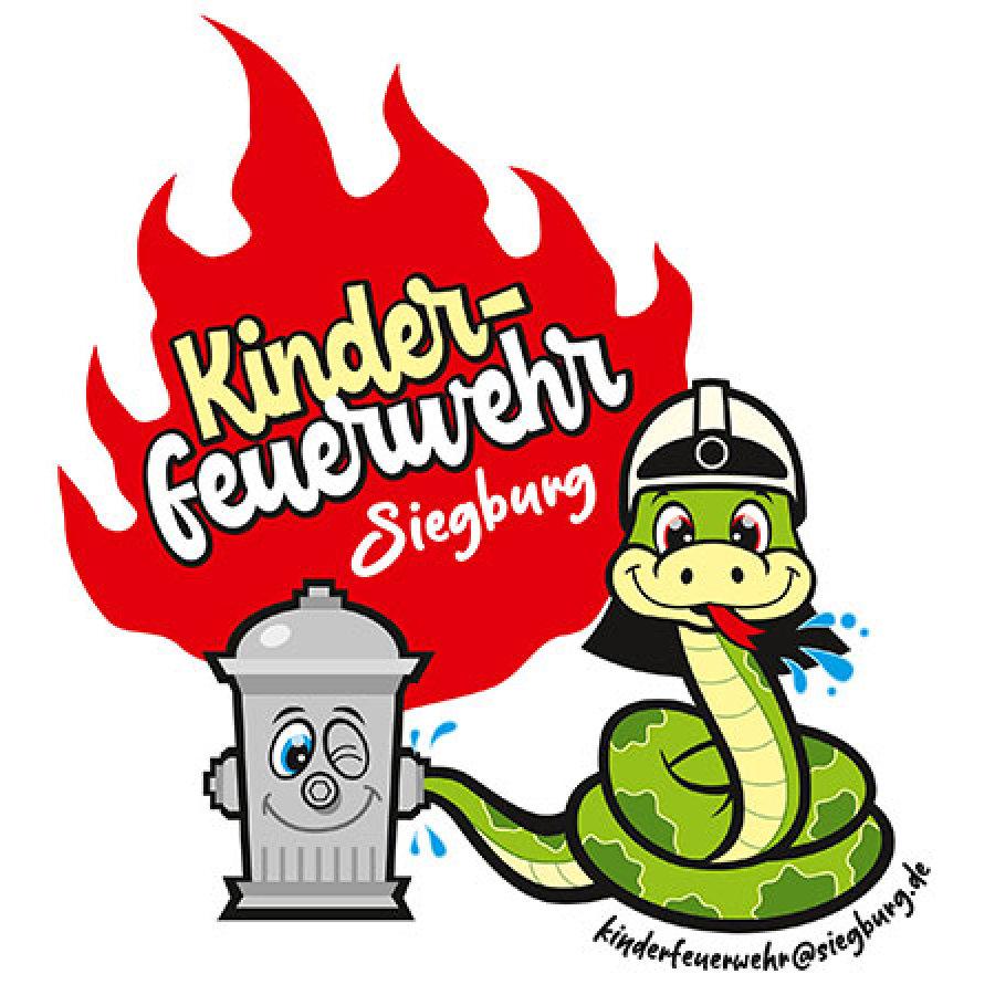 Das Bild zeigt das Logo der Kinderfeuerwehr Siegburg