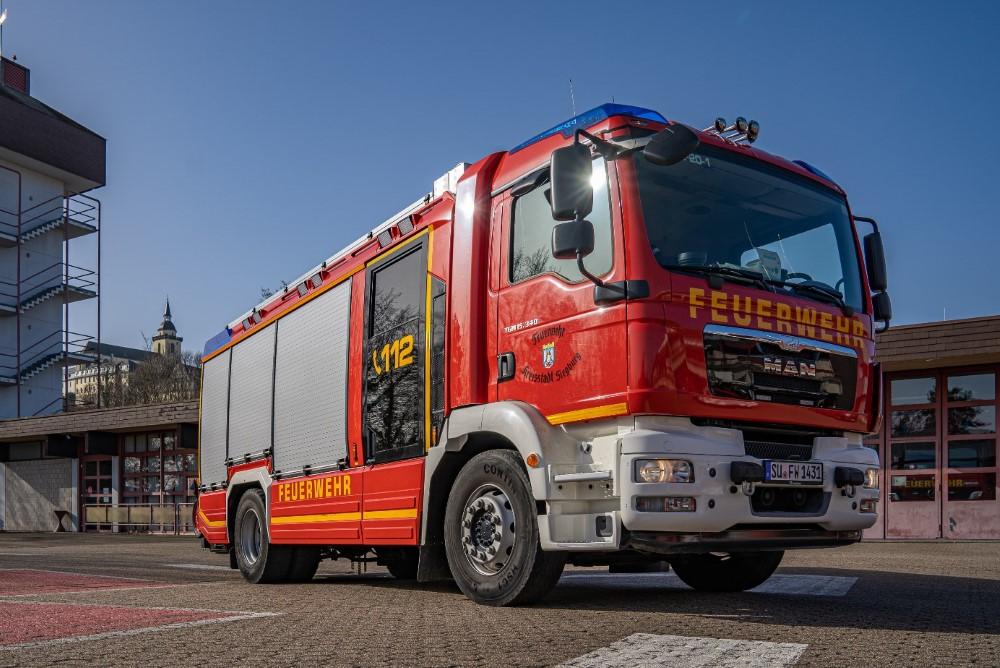 Bild vom Hilfeleistungslöschfahrzeug der Freiwilligen Feuerwehr Siegburg