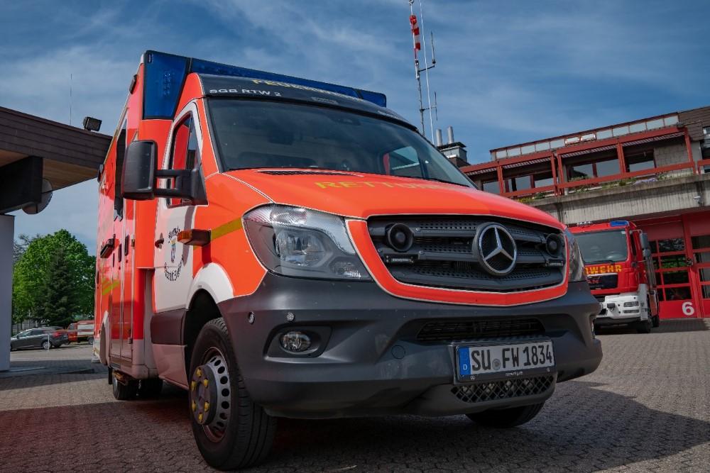 Fahrzeug RTW 1 der Freiwilligen Feuerwehr Siegburg