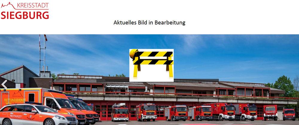 Bild von den Abrollbehältern der Freiwilligen Feuerwehr Siegburg