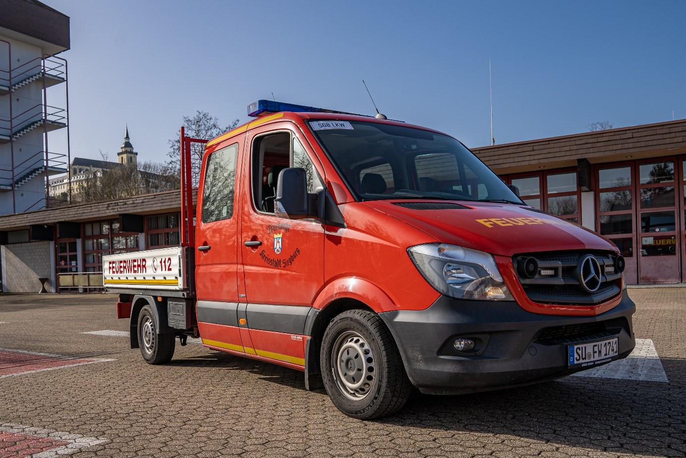 Bild vom Transporter LKW 1 der Freiwilligen Feuerwehr Siegburg