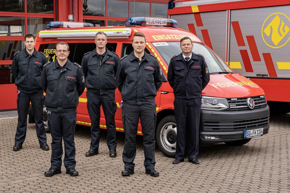 Das Bild zeigt den B-Dienst der Freiwilligen Feuerwehr Siegburg