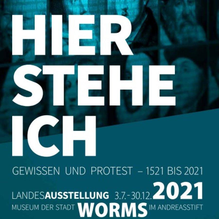 Landesausstellung in Worms vom 3.7. bis 30.12.2021
