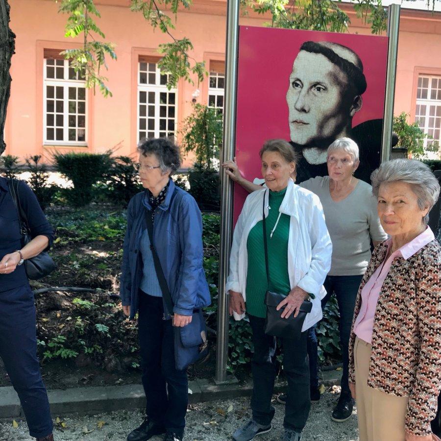 Lutherausstellung und Stadtrundgang in Worms.