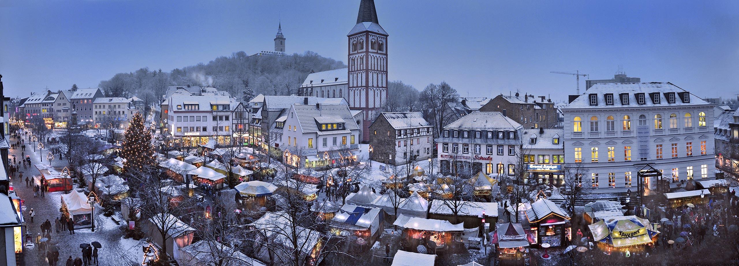 Der Mittelalterliche Markt zur Weihnachtszeit in Siegburg