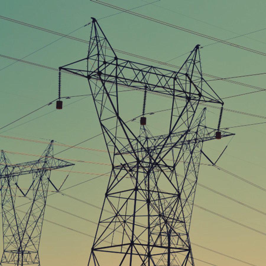 Bild von Strommasten