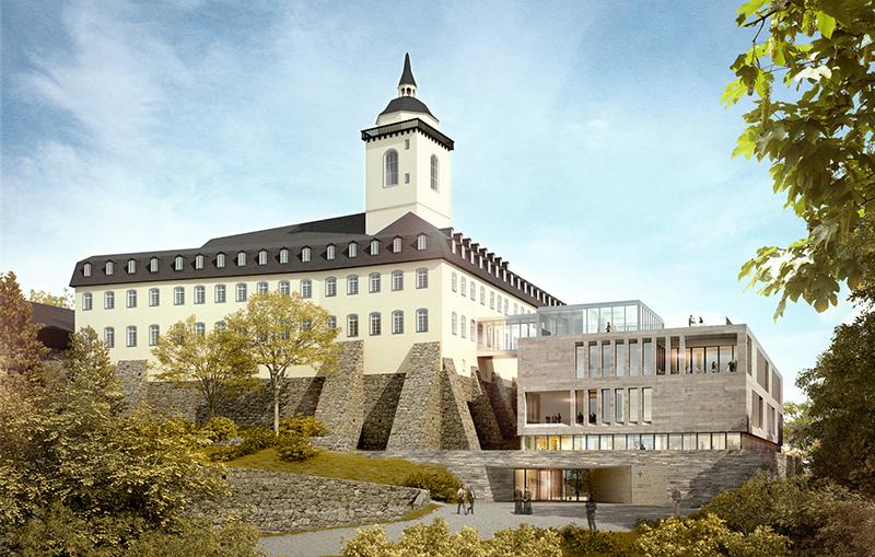Auf dem Bild ist das Katholisch-Soziale Institut (KSI) auf den Michaelsberg zusehen