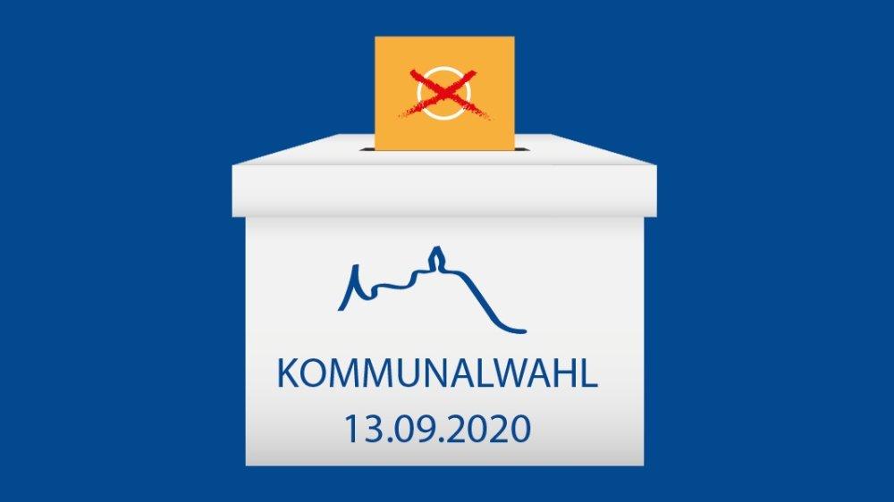 Logo der Kommunalwahl 2020 in Siegburg