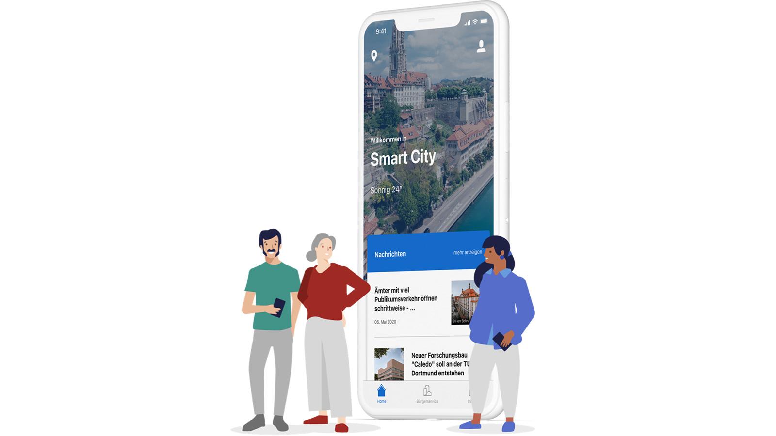 Zeit für einen einfachen und digitalen Bürgerservice. Wir entwickeln Citykey mit Städten und Gemeinden in ganz Deutschland. Erreiche deine Stadt per Smartphone – ganz ohne Schlange stehen. Die App erhält laufend neue Funktionen, die dir den Alltag erleichtern.
