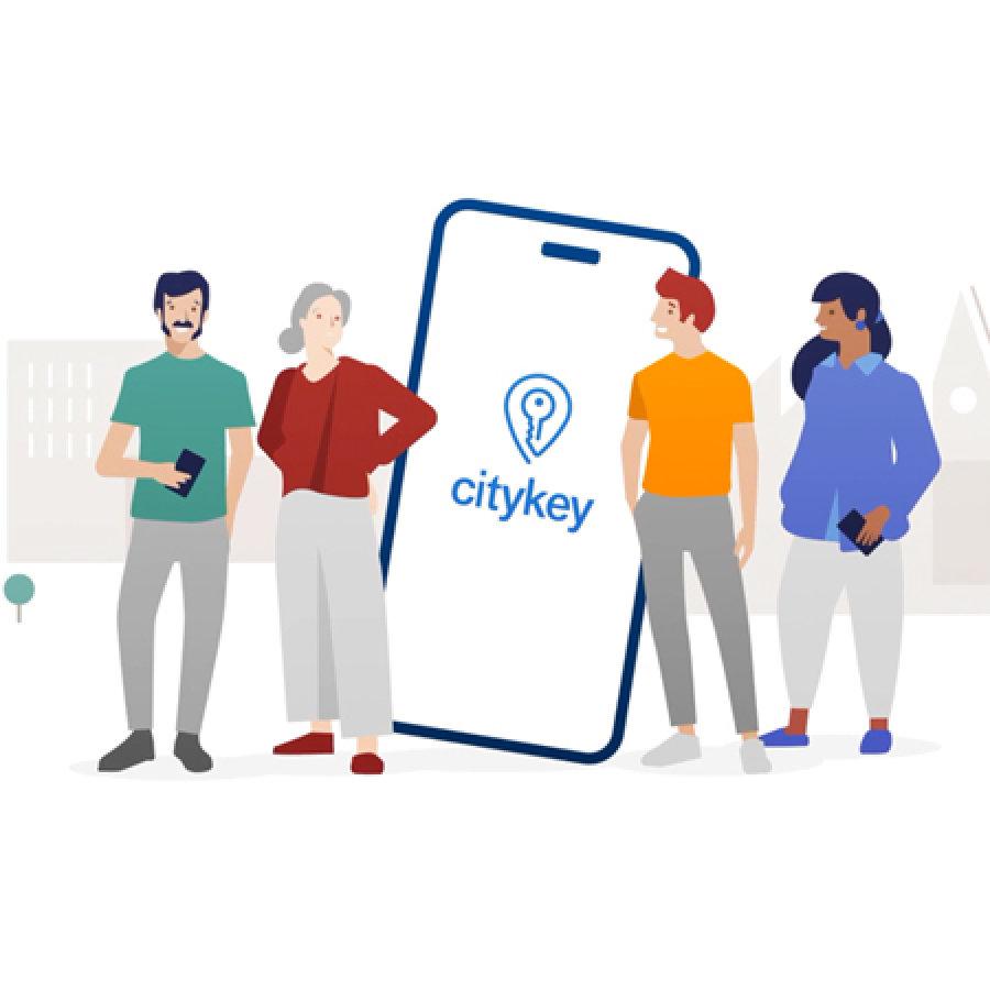 Bürgerservices einfach über das Smartphone: Anträge stellen, Umfragen beantworten, Infos erhalten und mehr – unabhängig von Öffnungszeiten. Lerne deine Stadt neu kennen.