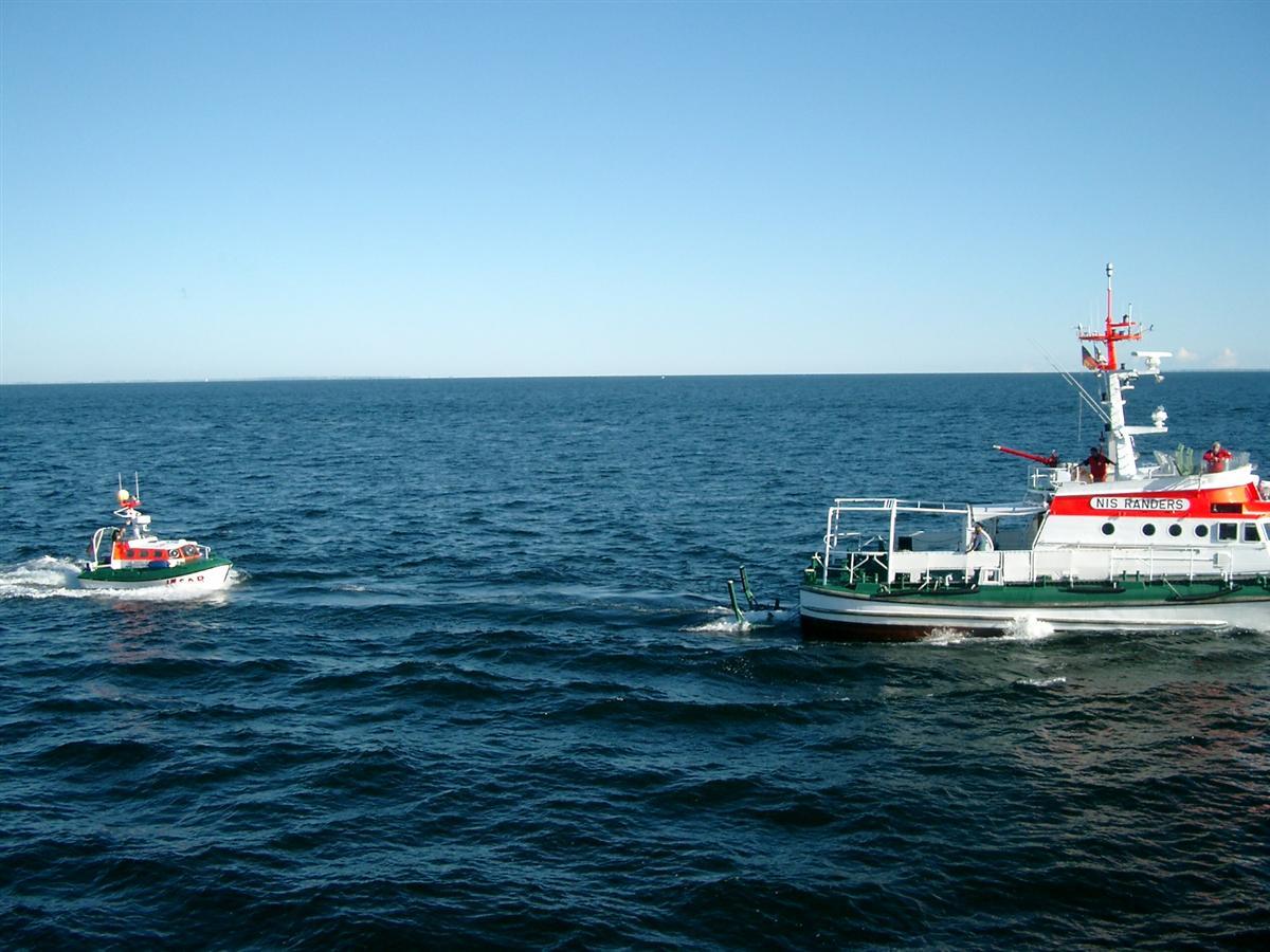 Das Bild zeigt das schnelle Minensuchboot Siegburg