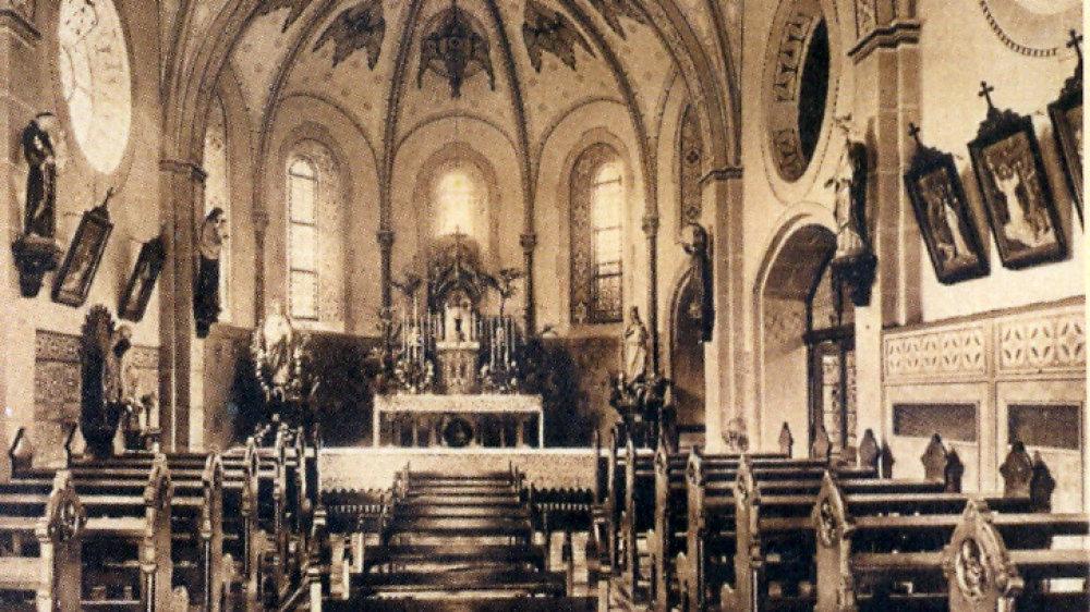 """Krankenhauskapelle """"Herz-Jesu-Capelle"""" nach 1882"""