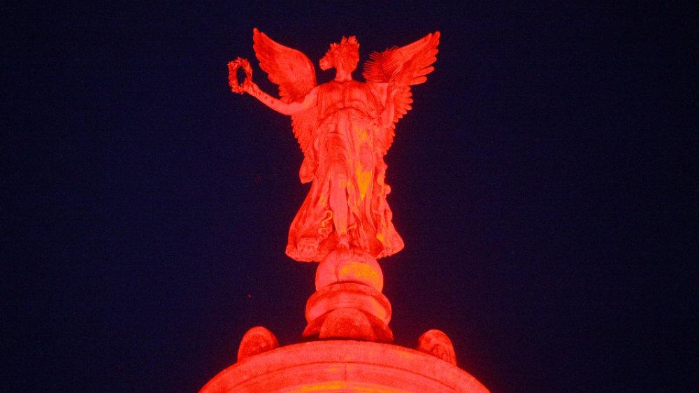 Night-of-Light-Denkmal am Markt