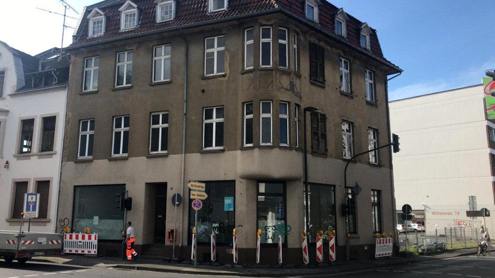 Ehemalige Glaserei Mauelshagen an der Alleestraße