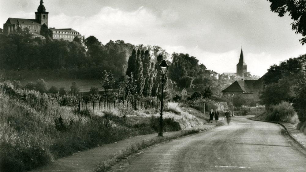 Die Zeithstraße 1954