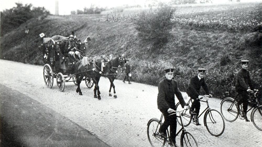 Die Postkutsche 1910