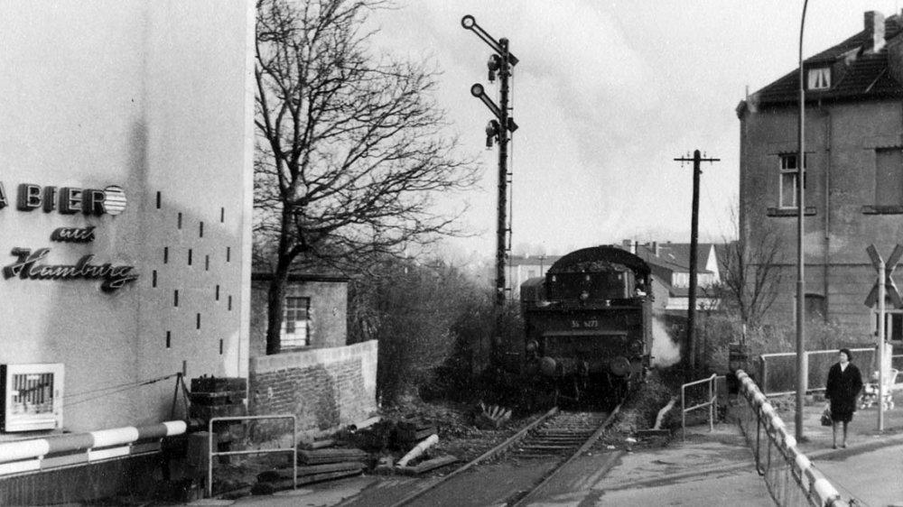 Bahnübergang 1965
