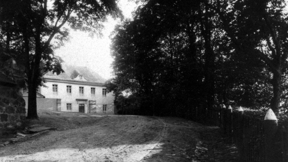 Gasthaus am Michaelsberg um 1915
