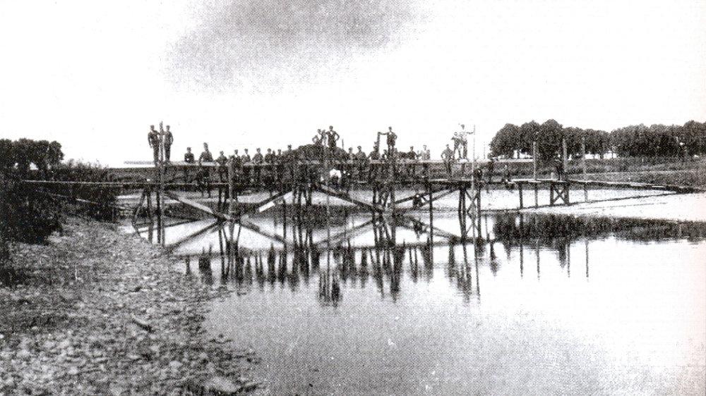 Brückenbau 1915