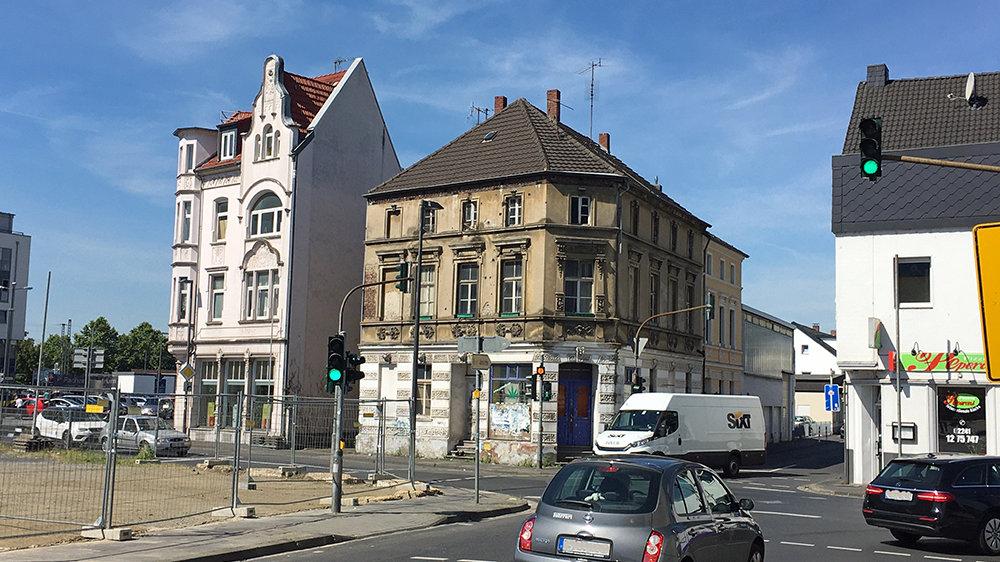 Kreuzung Wilhelm-/Alleestraße