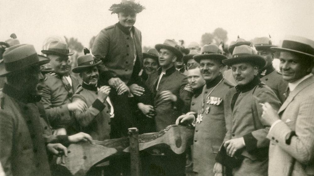 Schützenkönig Linder 1925