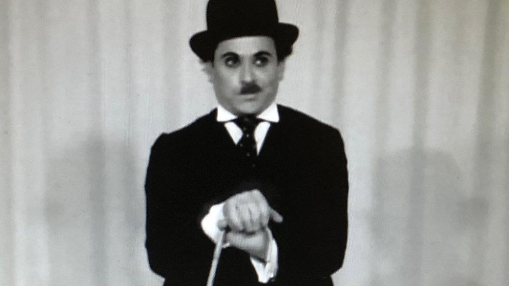 """Chaplin Double """"Charli"""" in den 1920er-Jahren"""