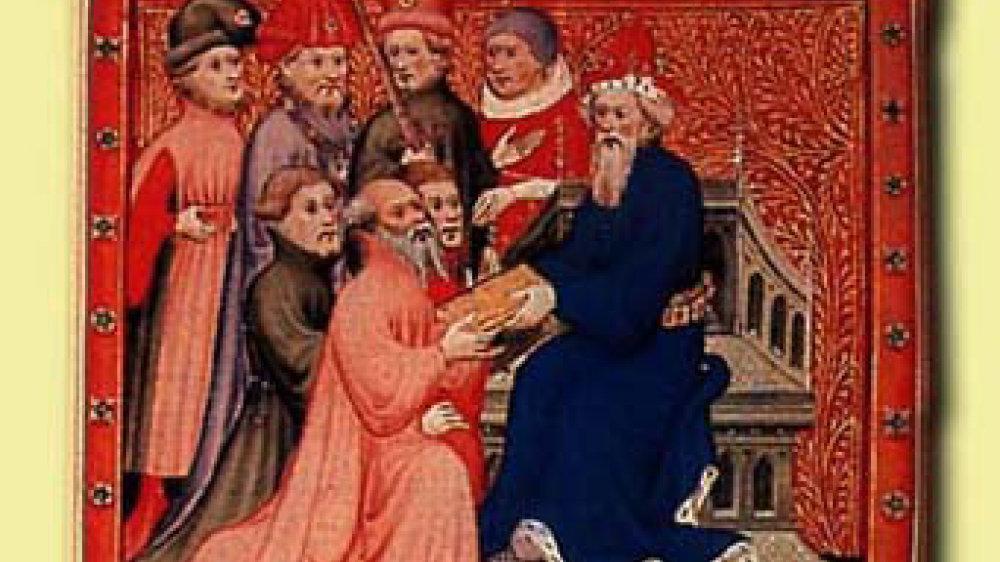 Marco Polo bei Kublai Khan
