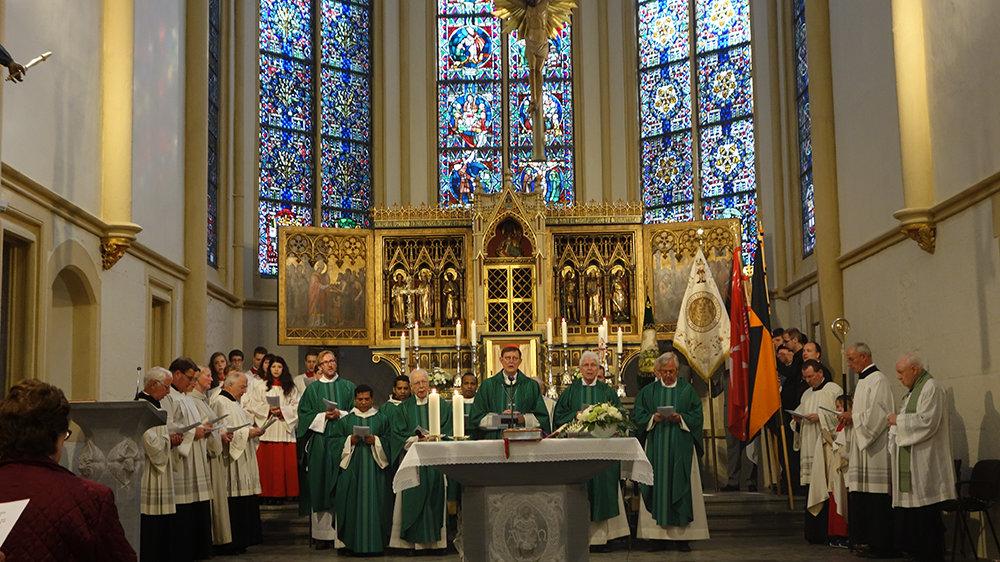 Erzbischof Rainer Maria Kardinal Woelki 2015 in der Servatiuskirche