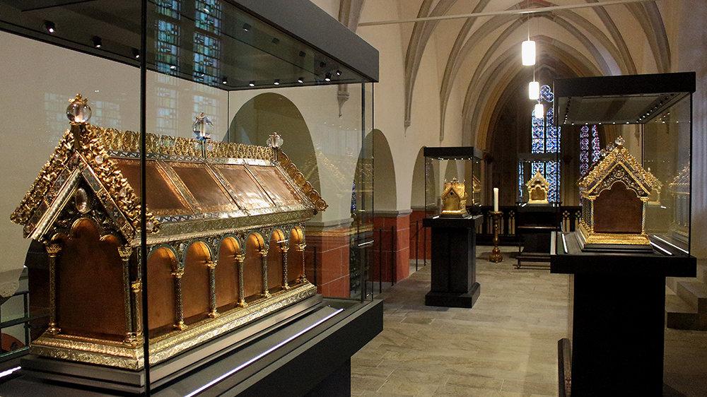 Schatzkammer in Sankt Servatius