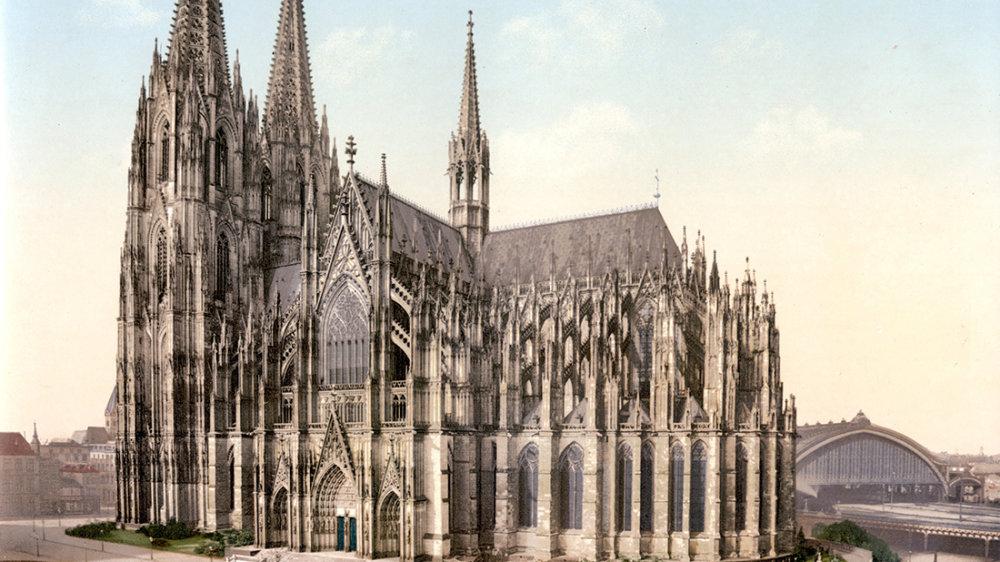 Kölner Dom 1910