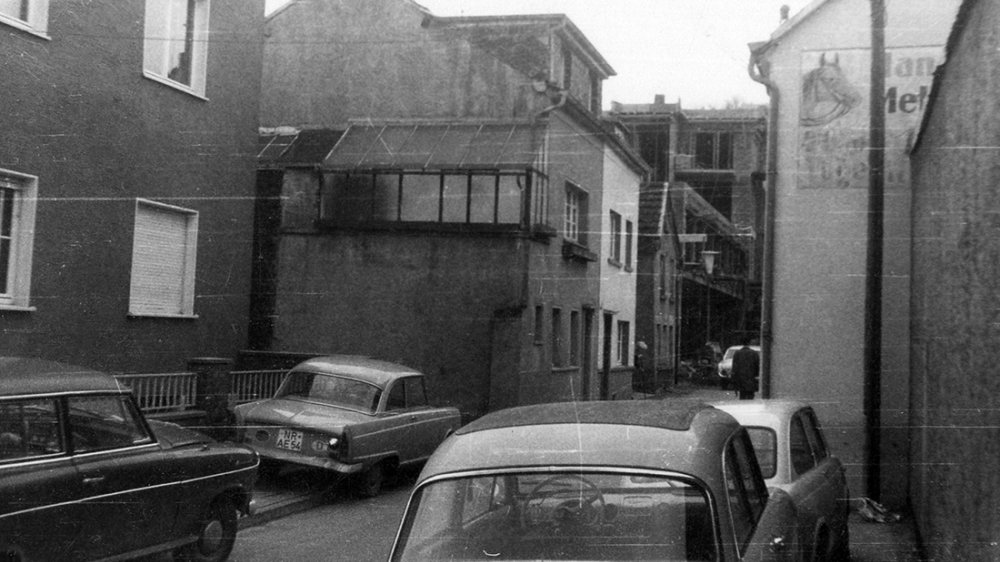 Die Scheerengasse 1965