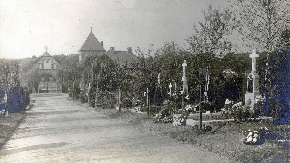 Nordfriedhof 1914