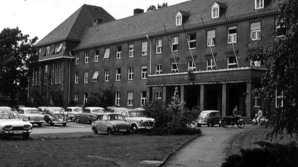 Das Kreishaus in den 1960er Jahren