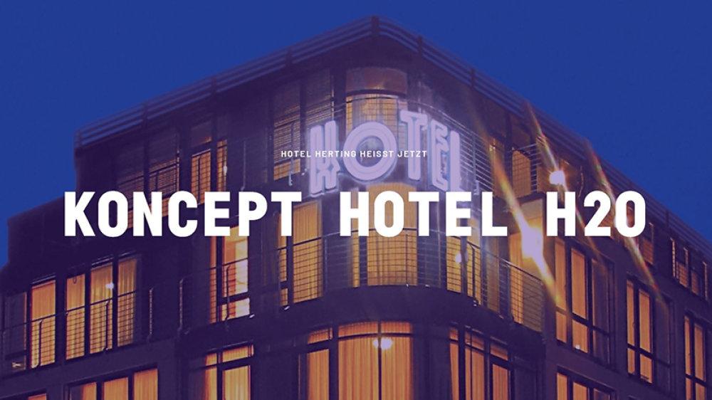 Koncept Hotel H20 in Siegburg