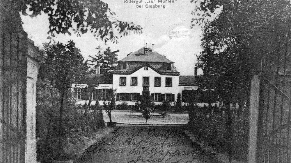 Haus zur Mühlen um 1913