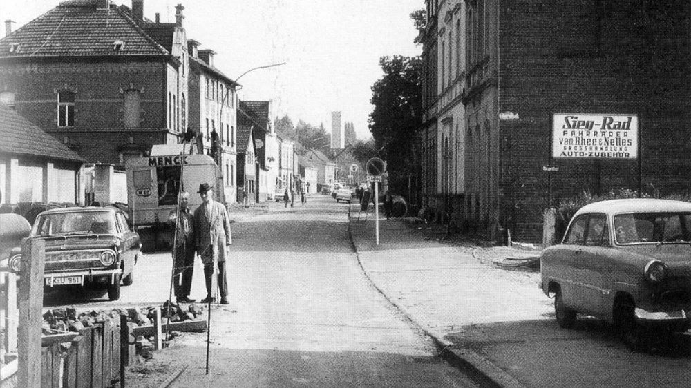 Die Zeithstraße in den 1960er Jahren