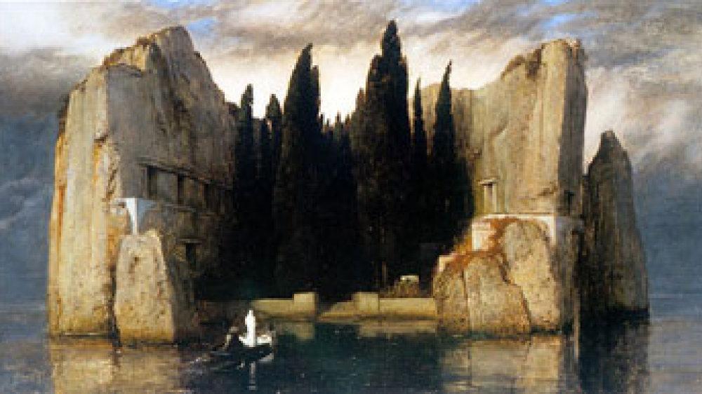 """""""Toteninsel"""" von Arnold Böcklin, 1883"""
