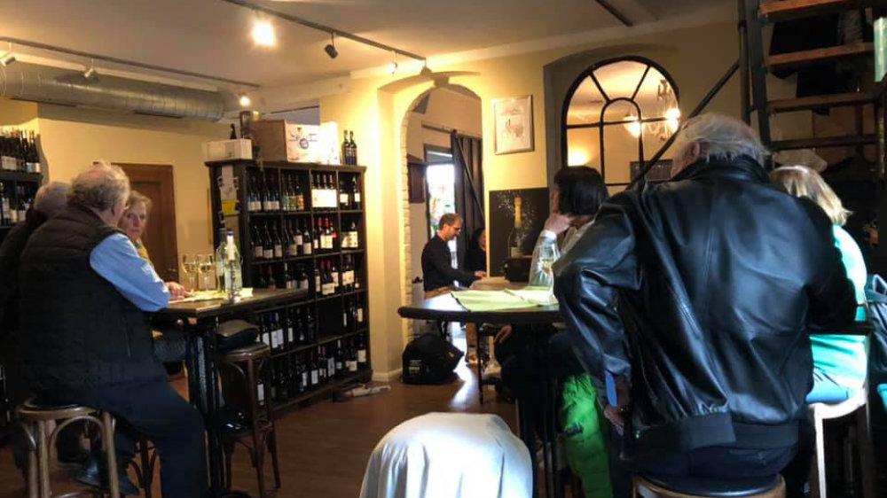 Stefan Ulbricht in der Weinschmiede