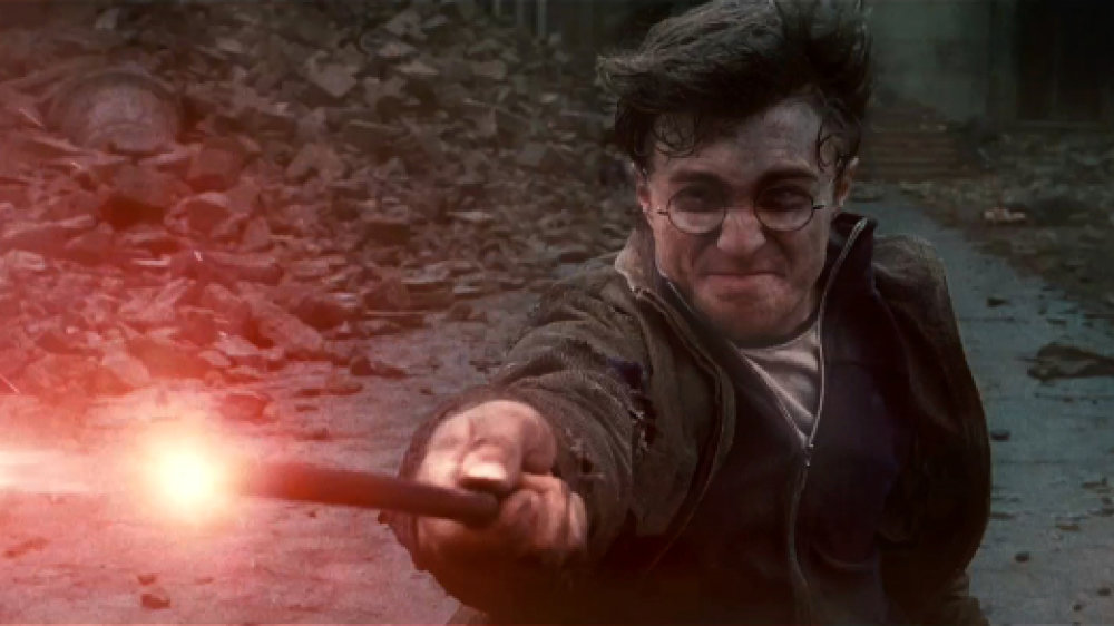 Szene aus Harry Potter