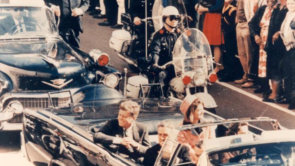 Wenige Minuten vor dem Attentat auf John F. Kennedy