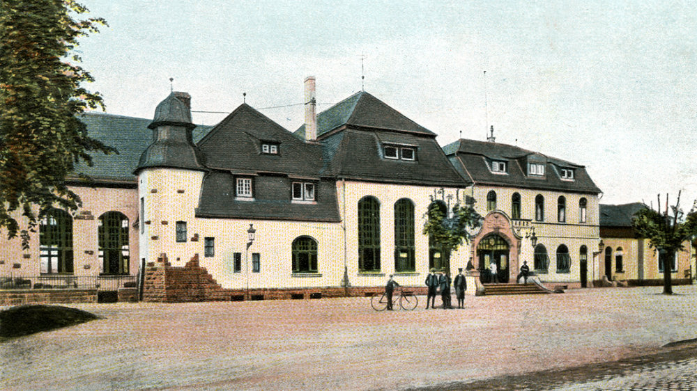 Siegburger Bahnhof um 1910