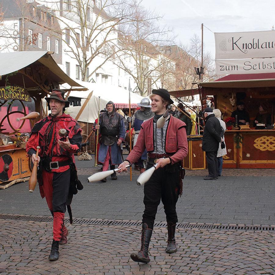 Eröffnung Mittelalter Markt 2019