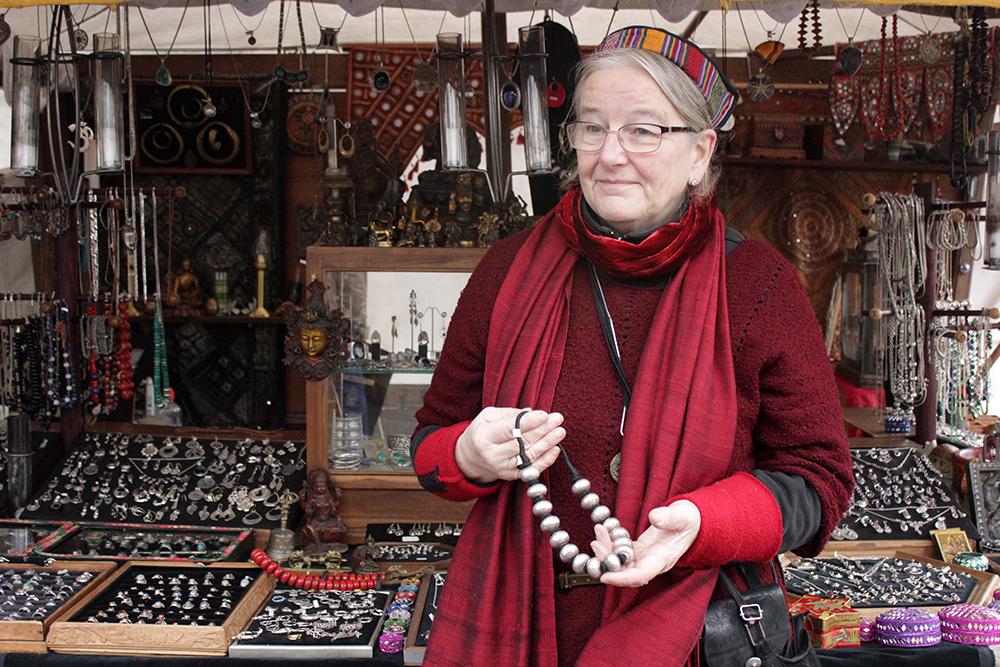 Petra Diekmann - Indische-Händlerin