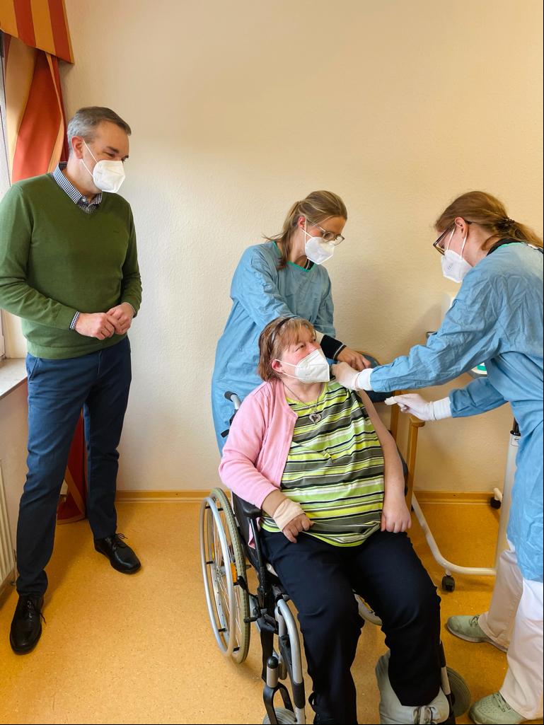Impfung Seniorenzentrum