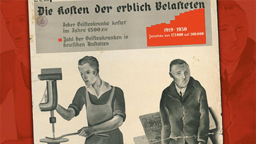 """Buchcover - """"Euthanasie"""", Zwangssterilisationen, Humanexperimente"""