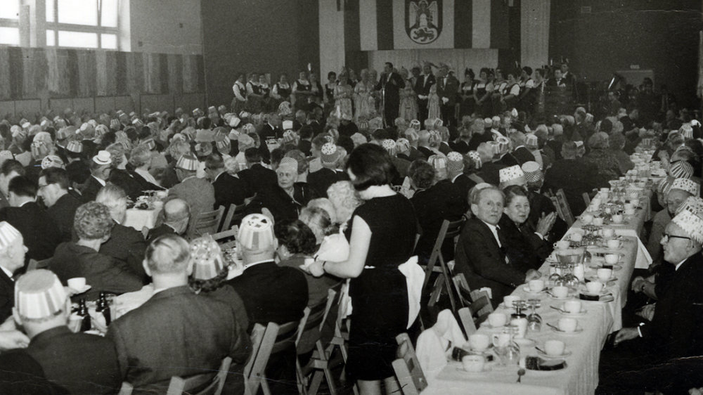 Siegburger Seniorensitzung 1956