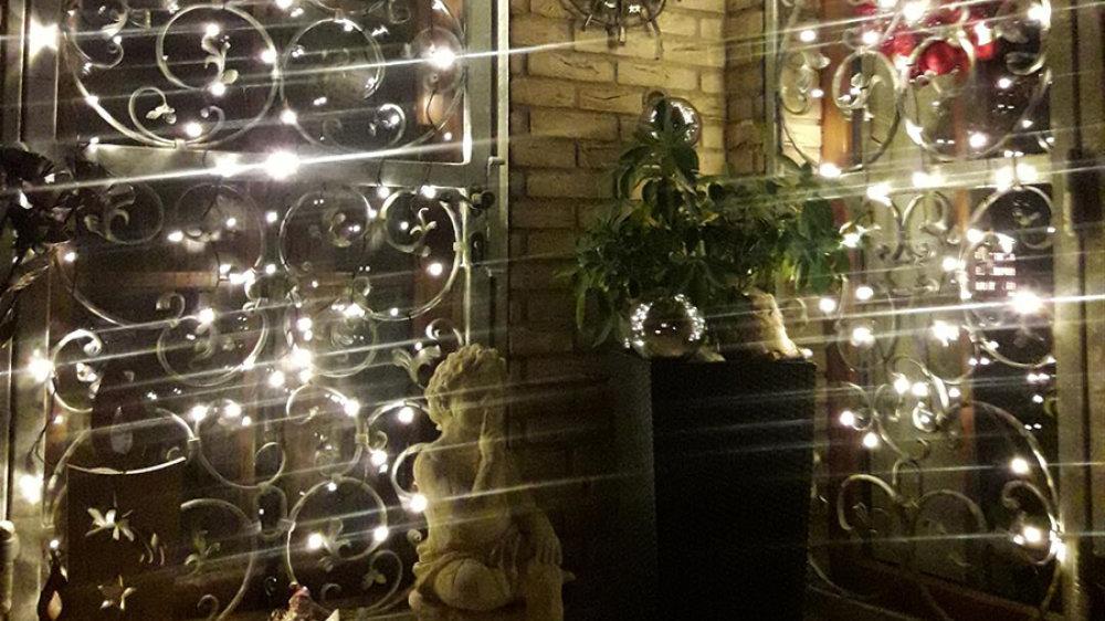 Adventsfenster 2020 auf dem Deichhaus