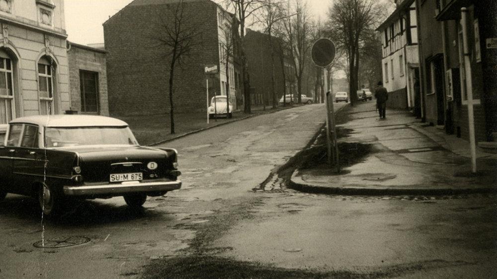 Aulgasse 1956 - Ecke Alte Poststraße