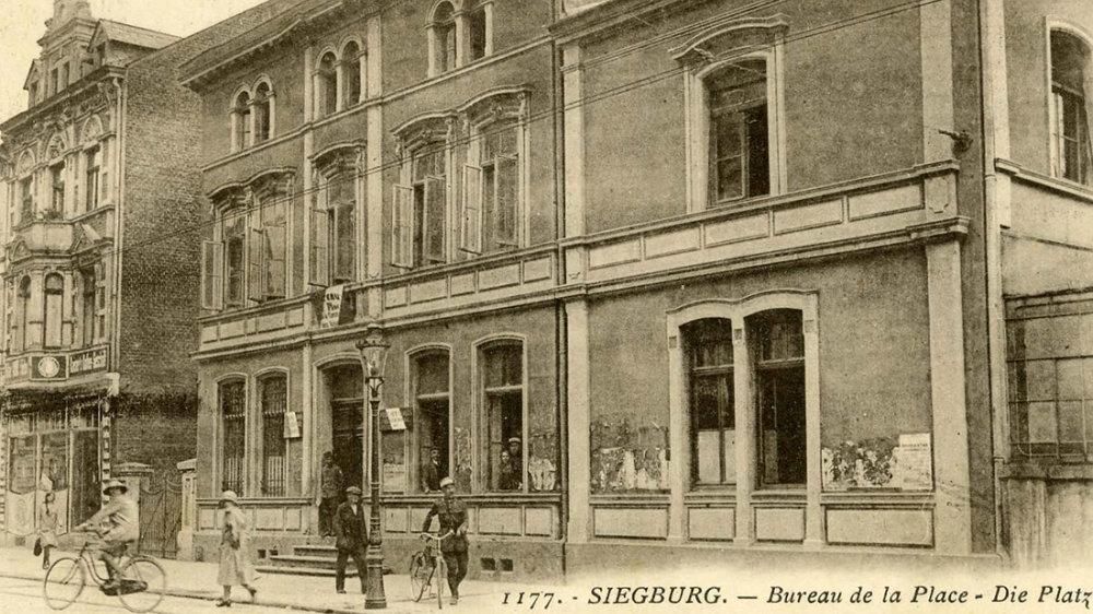 Kommandatur der Französischen Besatzungstruppen 1925 in der Kaiserstraße 30